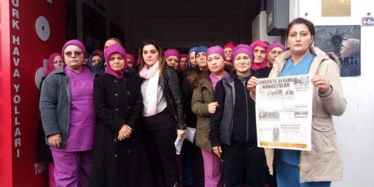 FİSKOBİRLİK işçilerinden Tomakin'e cevap