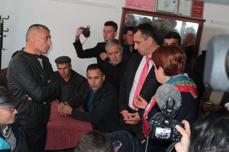 Balıkesir'de vatandaşlardan Akşener'e HDP tepkisi