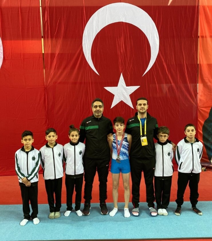 Karatay Belediyespor, jimnastikteki iddiasını da gösterdi