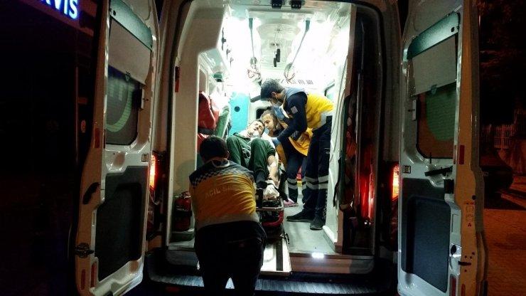 Karbonmonoksit gazından zehirlenen kişi hastanelik oldu