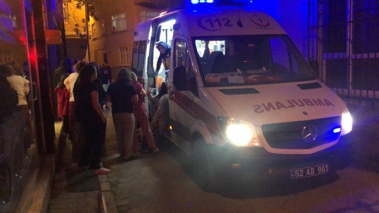 Fatsa'da korkutan depo yangını