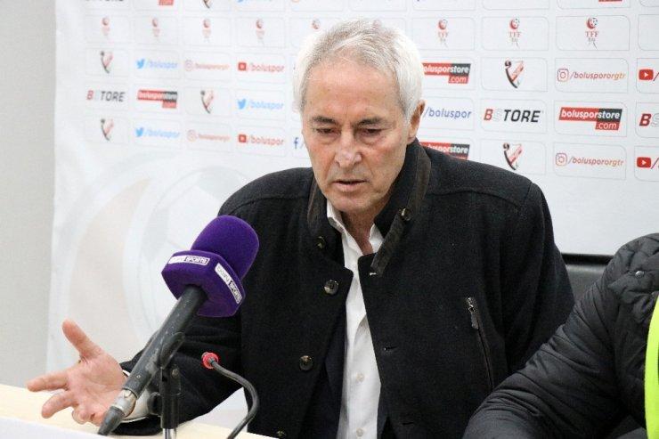 Boluspor - Adanaspor A.Ş. maçının ardından