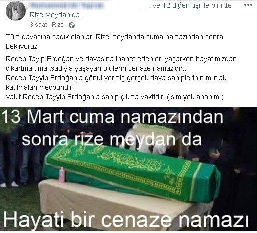 DEVA Partisi'ne geçen Hasan Karal için Rize'de gıyabi cenaze namazı kılınacak
