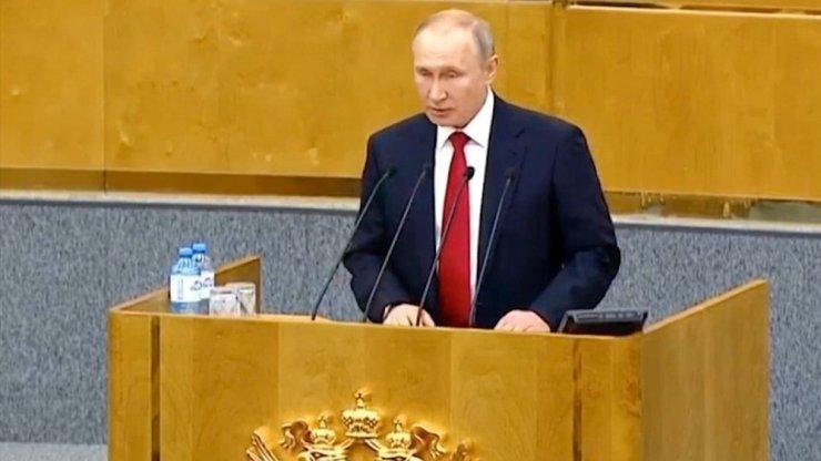 """Putin: """"Rusya'nın geleceği için referanduma ihtiyaç var"""""""