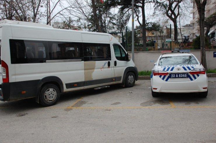Servis şoförü, ikinci kez alkollü yakalandı