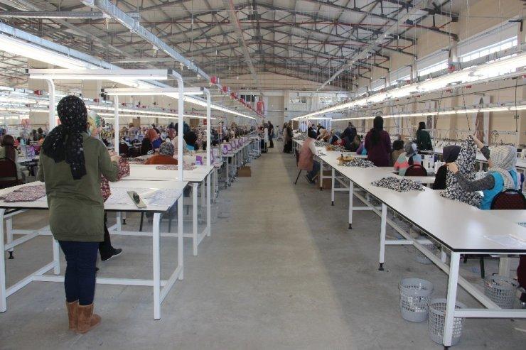 Erzurum Tekstilkentte dev firmalar üretim yapıyor