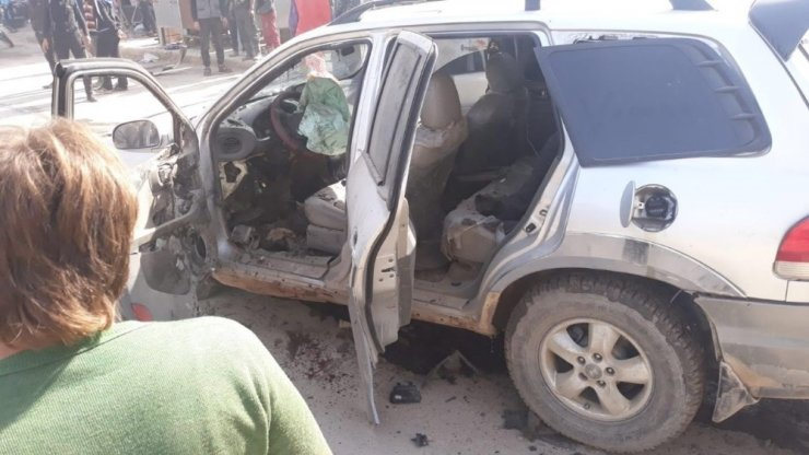Afrin'de patlama: 1 yaralı