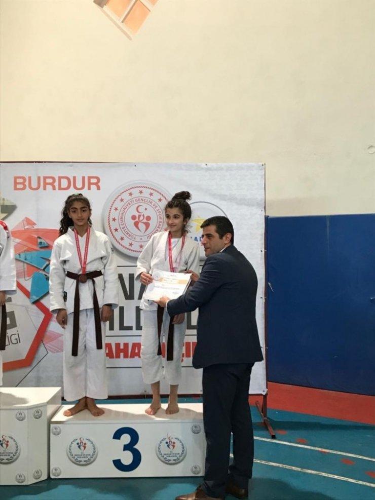 Ispartalı Judoculardan 1 gümüş, 1 bronz madalya