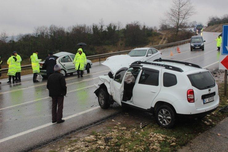 Otomobil ile cip çarpıştı: 1 ölü 1 yaralı