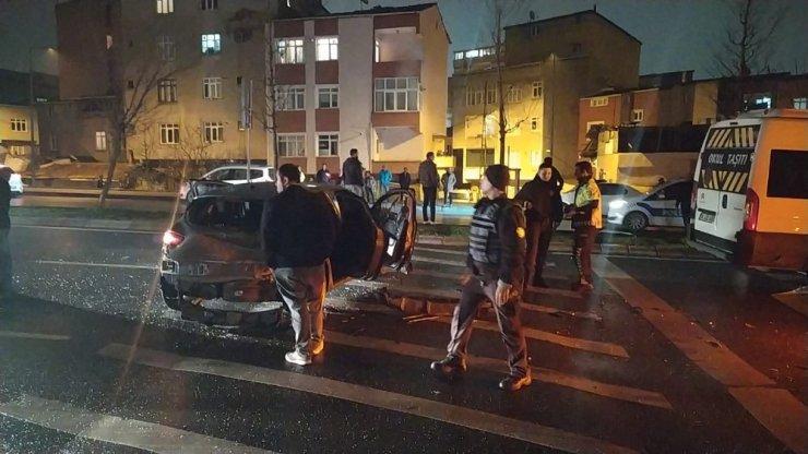 Trafik magandası ortalığı savaş alanına çevirip kaçtı: 4 yaralı