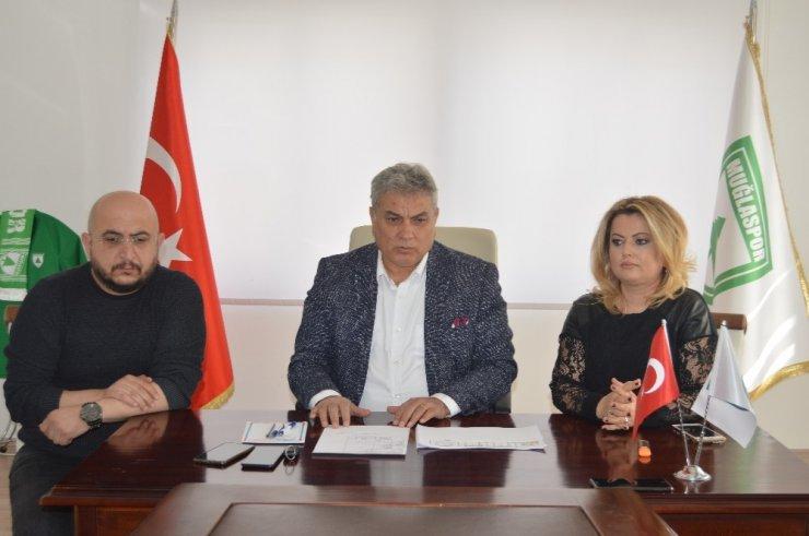 İstifalar sonrası Muğlaspor'da görev dağılımı yapıldı