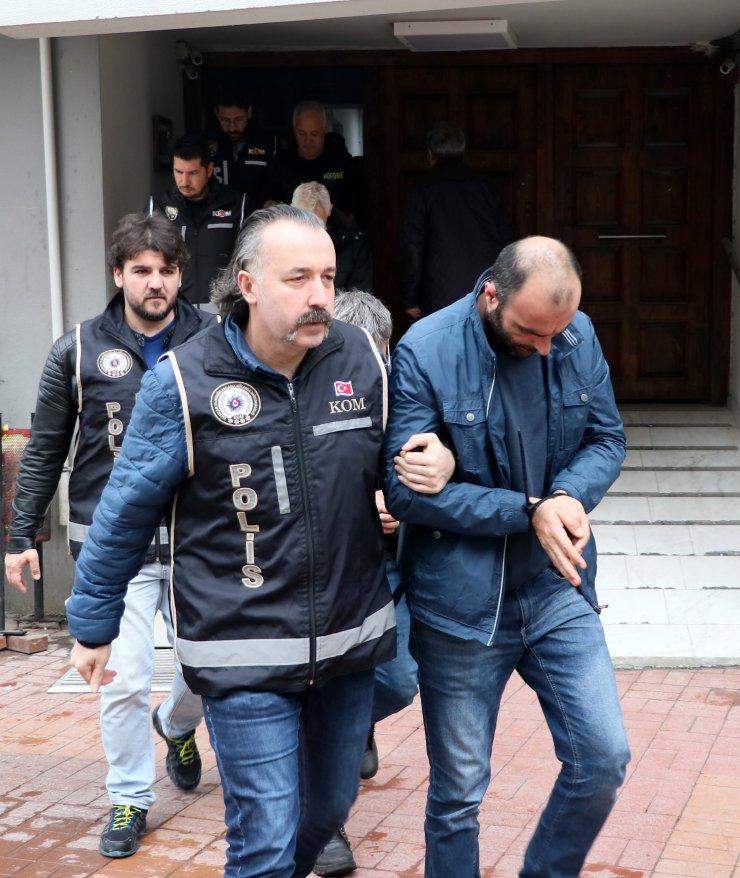 """GÜNCELLEME - """"Sahte madeni avro"""" operasyonunda gözaltına alınan 3 kişi tutuklandı"""