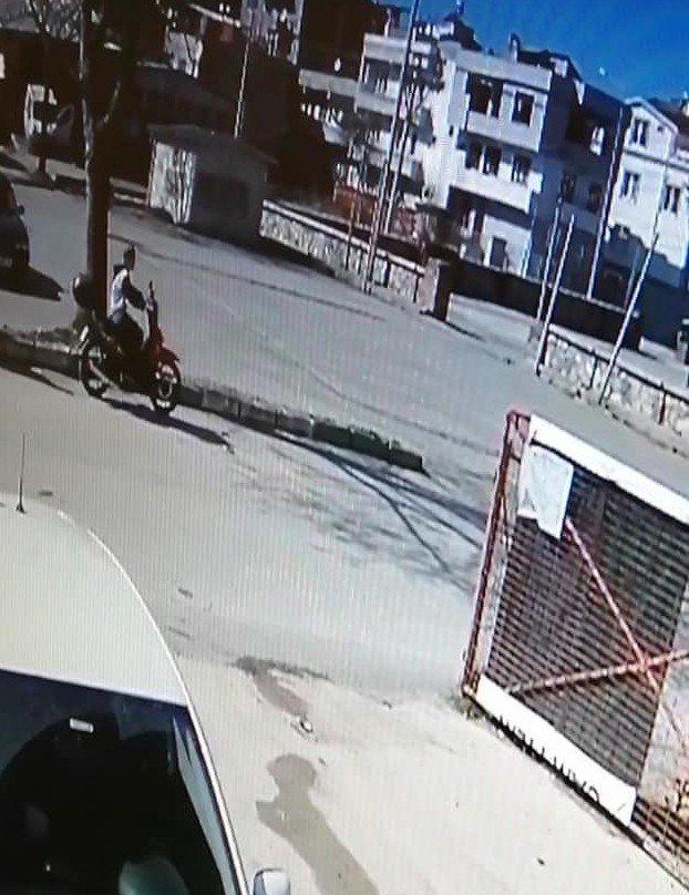 Motosikletini satmak için buluştuğu kişi test sürüşünde motosikleti çaldı