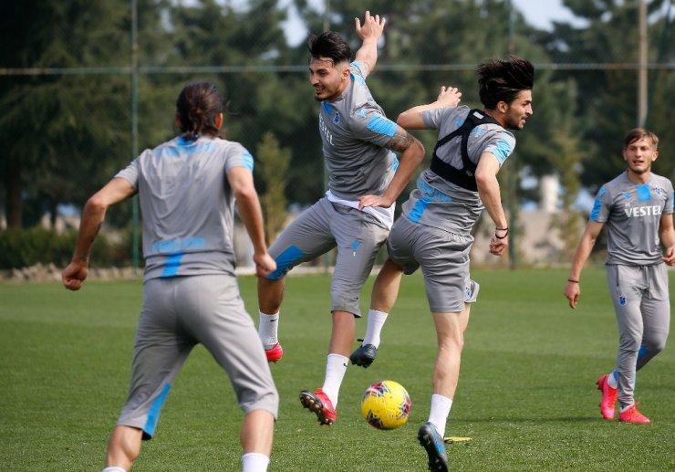 Trabzonspor, Yeni Malatyaspor maçı hazırlıklarını tamamladı