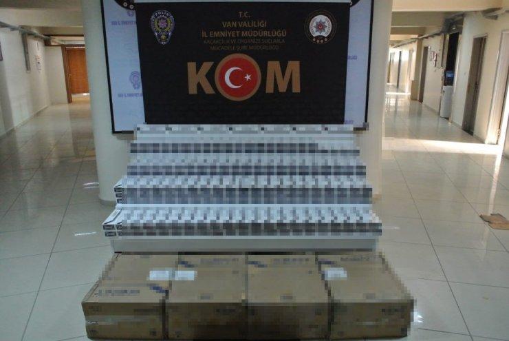 2 ayda 142 bin paket kaçak sigara ele geçirildi