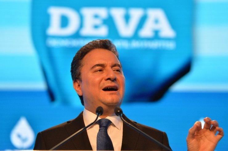 DEVA Partisi siyasi hayatına başladı