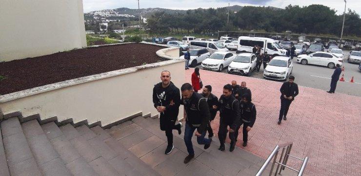 Sarallar suç örgütüne Bodrum'da operasyon: 6 gözaltı