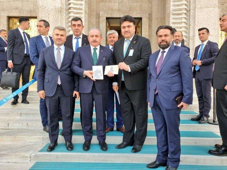 Başkan Ersoy'dan devletin zirvesine davet