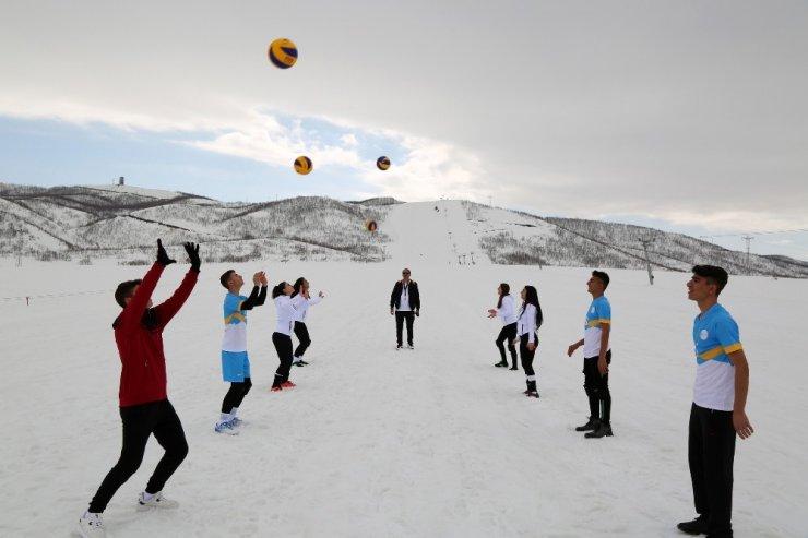 Tunceli, Kar Voleybolu Dünya Kupası'nda Türkiye'yi temsil edecek