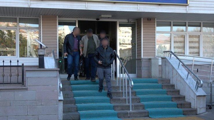 Kırıkkale'de 93 polis ile şafak operasyonu: 10 gözaltı