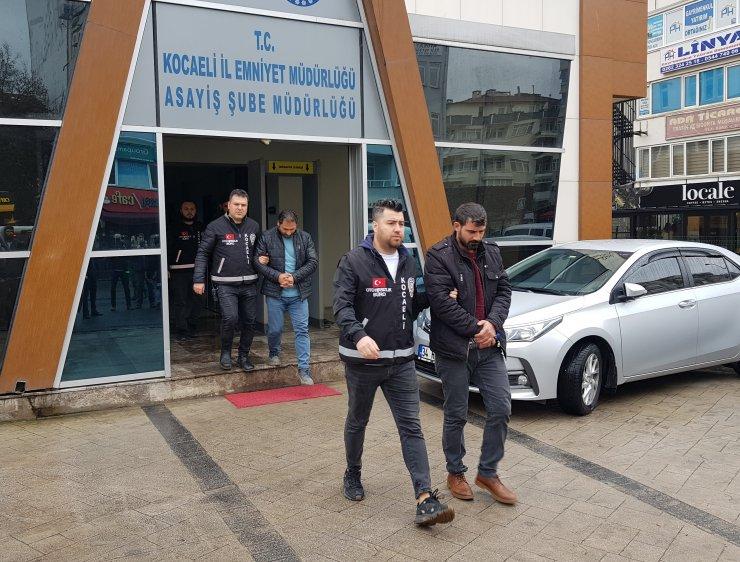 Kocaeli'de fabrikadan 130 bin liralık otomobil lastiği çalınmasıyla ilgili 1 tutuklama