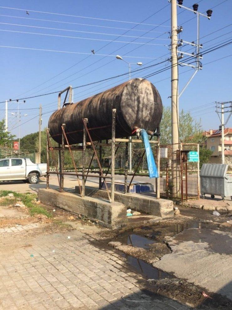 Manisalı çiftçiye tarımsal ilaçlama suyu ücretsiz