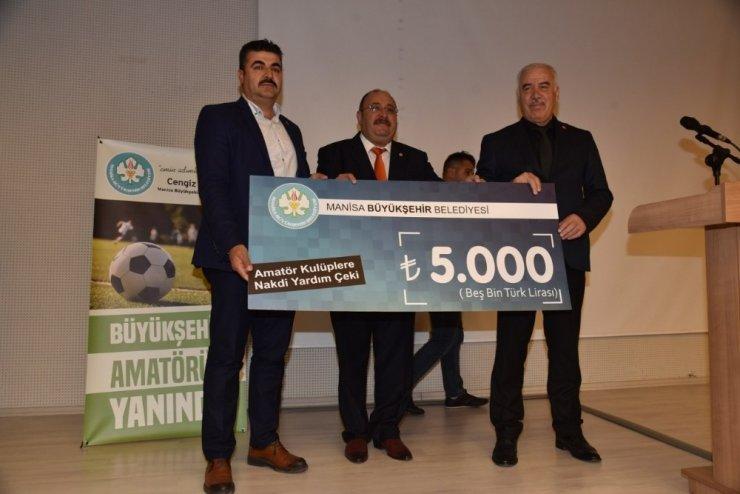 Manisa Büyükşehir'den 310 bin liralık destek