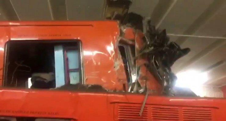 Meksika'da feci metro kazası: 1 ölü, 45 yaralı