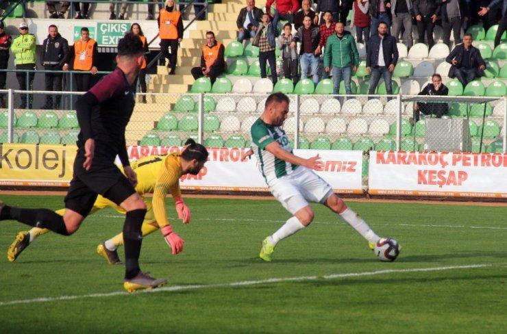 TFF 1. Lig: Giresunspor: 1 - Keçiörengücü: 0