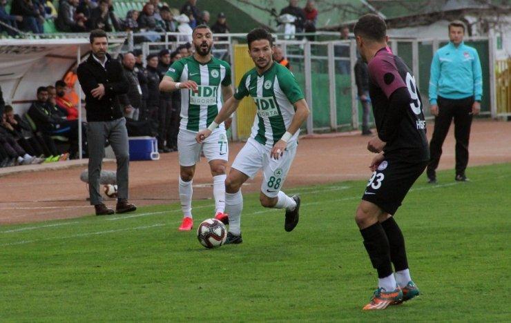 TFF 1. Lig: Giresunspor: 1 - Keçiörengücü: 0 (İlk yarı sonucu)
