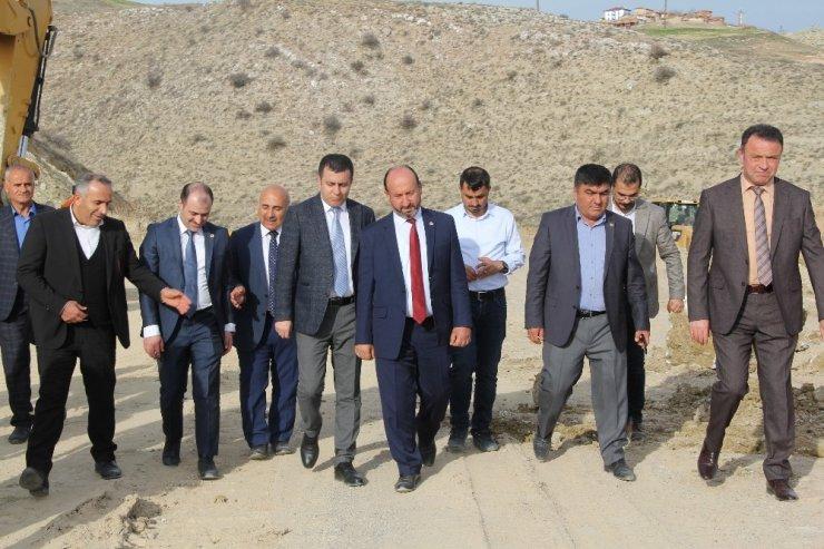 Toprağı suyla buluşturan proje ekonomiye 58 milyon lira katkı sağlayacak