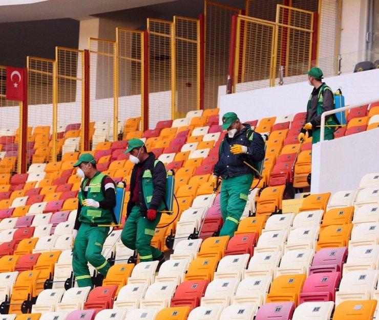 Yeni Malatyaspor - Trabzonspor maçı öncesi 'korona' önlemi