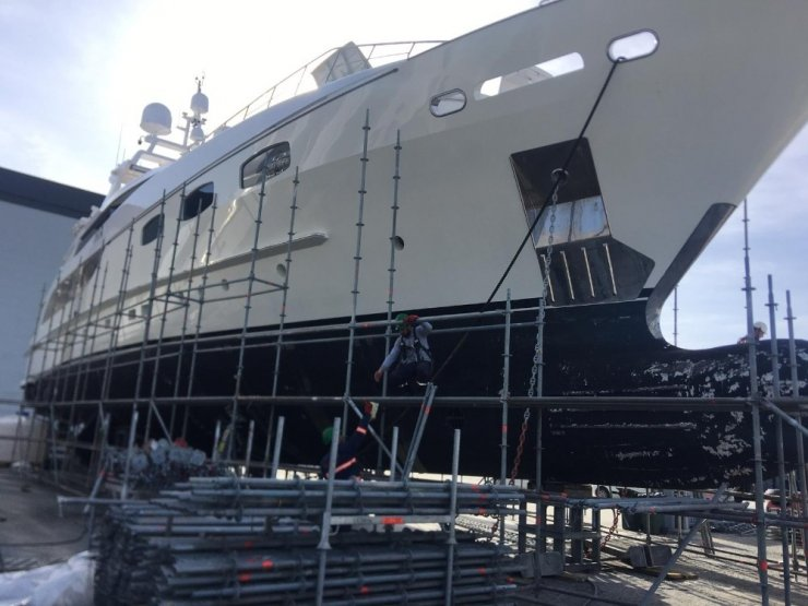 Milyon liralık teknelerin güvenliği o kameralara emanet