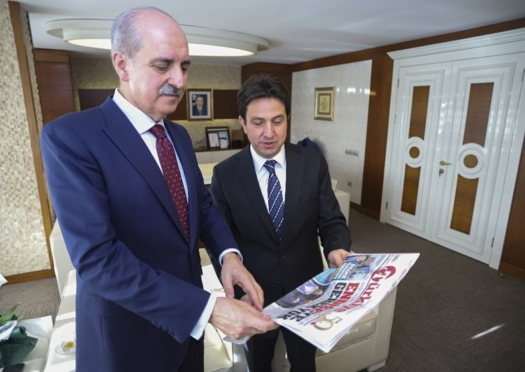 """AK Parti Genel Başkanvekili Kurtulmuş: """"Bizim Suriye'de bir karış toprakta gözümüz olmadığı gibi bir damla petrolde de gözümüz yoktur"""""""