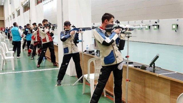 Havalı Silahlar Türkiye Şampiyonasında ikinci oldu