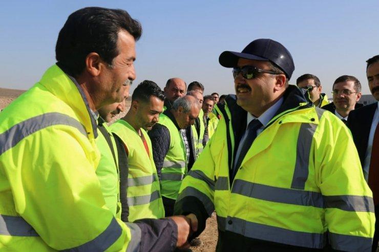 Bakan Yardımcısı Metin, Ankara Çayı ıslah çalışmalarını yerinde inceledi