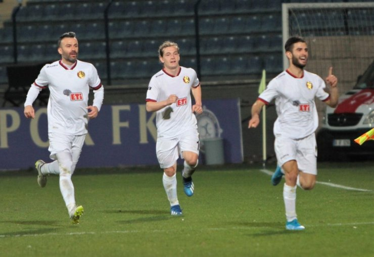 TFF 1. Lig: Osmanlıspor FK: 1 - Eskişehirspor: 1