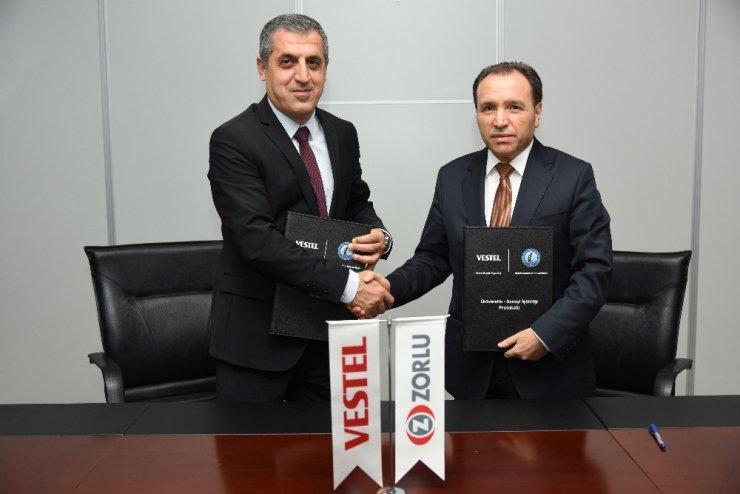 Vestel Beyaz Eşya, Afyon Kocatepe Üniversitesi ile iş birliği protokolü imzaladı