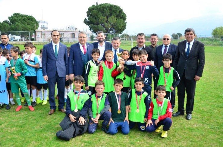 Yunusemre, 'Minik Şehzadeler' turnuvasına ev sahipliği yaptı
