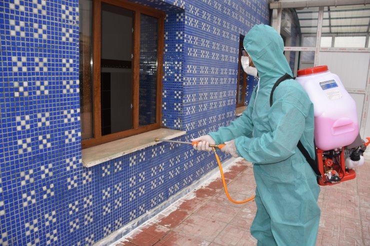 Bingöl, Batman ve Şırnak'ta koronavirüse karşı dezenfeksiyon yapıldı