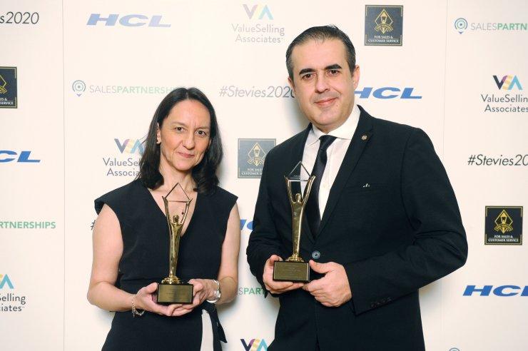 DenizBank, Stevie Ödülleri'nden 14 ödülle döndü
