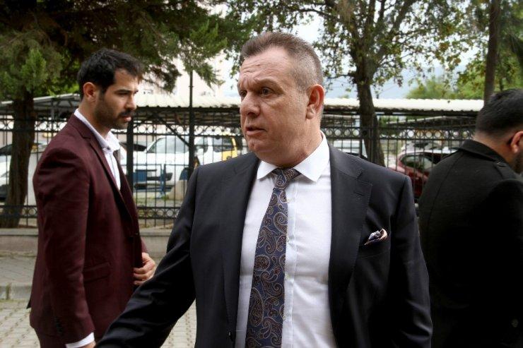Denizlispor Başkanı Ali Çetin ve polisler arasındaki dava başladı