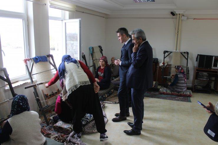 Ayrancı Kaymakamı Çakır'dan Halk Eğitim Merkezine ziyaret