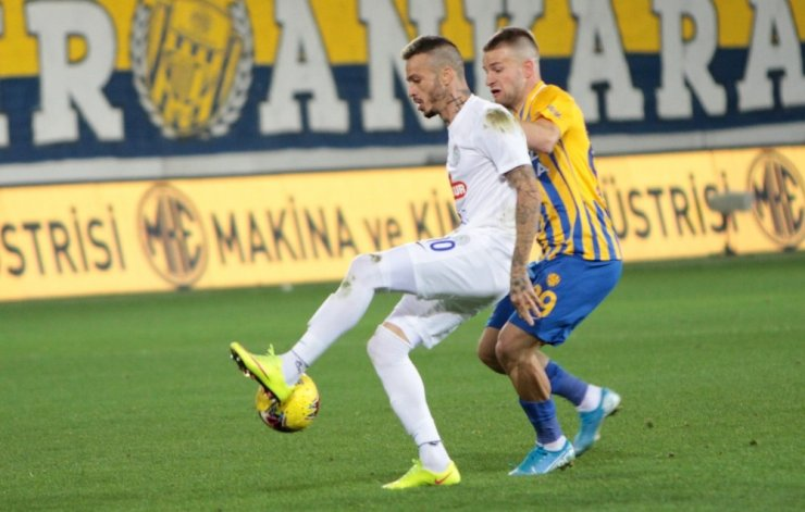 Süper Lig: MKE Ankaragücü: 2 - Çaykur Rizespor: 1 (Maç Sonucu)