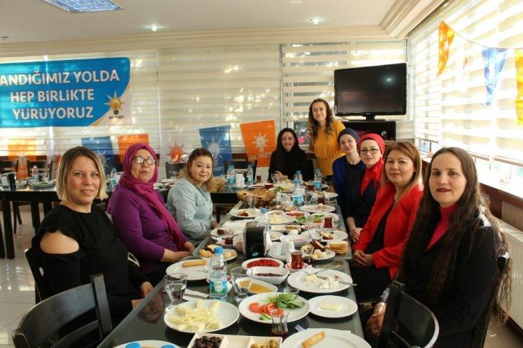 Edremit AK Parti'den birlik ve beraberlik toplantısı