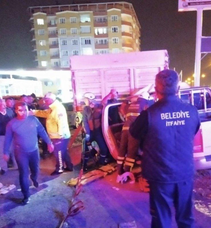 Batman'da trafik kazası: 1'i ağır 5 yaralı