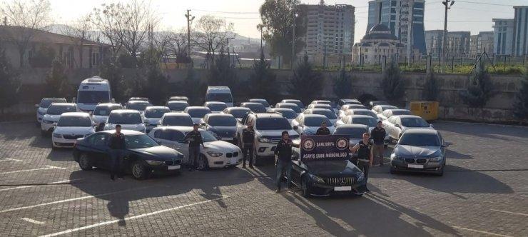 Şanlıurfa merkezli oto hırsızlığı: 15 tutuklama