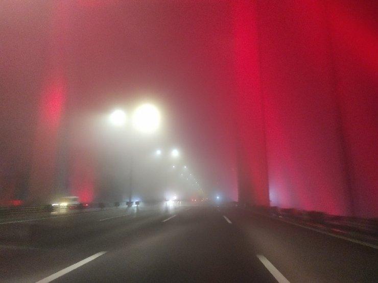 İstanbul'da sis görüş mesafesini 50 metreye düşürdü
