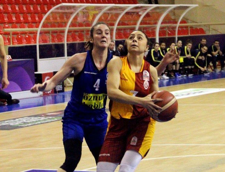 Kadınlar Basketbol Süper Ligi: Galatasaray: 80 - Fenerbahçe: 77