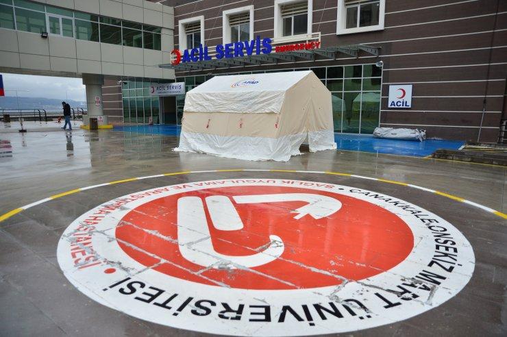"""Çanakkale'de iki hastane """"pandemi hastanesi"""" oldu"""